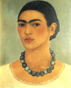 FridaKahlo-Self-Portrait-1933