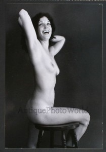 Laughing Nude Woman by Martin Miller