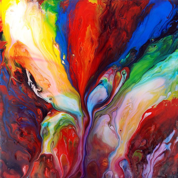 Painting tales of creative compassion for Creative abstract painting